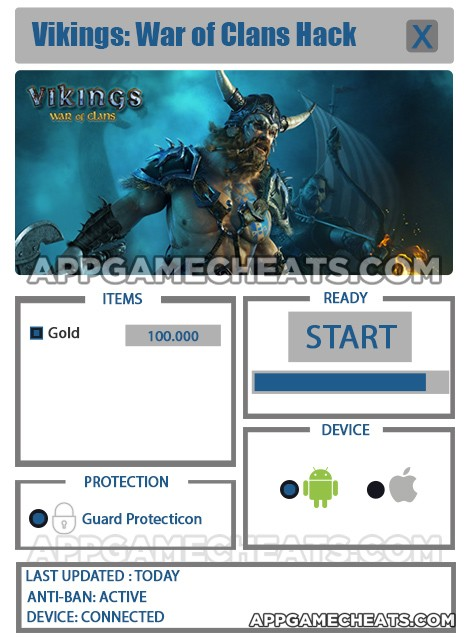 Vikings: War of Clans Hack for Gold