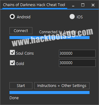 Chains of Darkness Cheat Tool