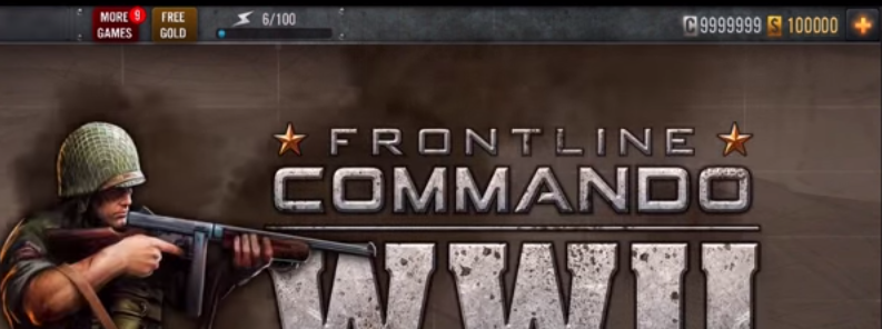 Frontline Commando WW2 Hack all weapons, free all upgrades