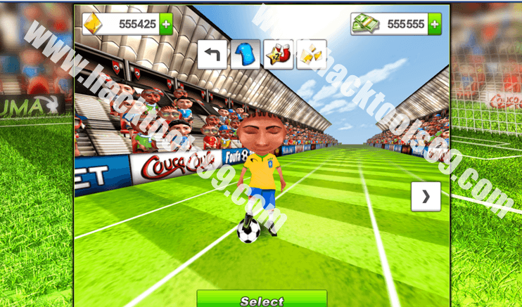 Soccer Rush Hack Working Proof