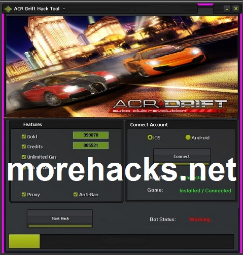 ACR Drit Hack Tool