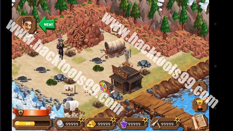 Westbound Gold Rush Hack Working Proof