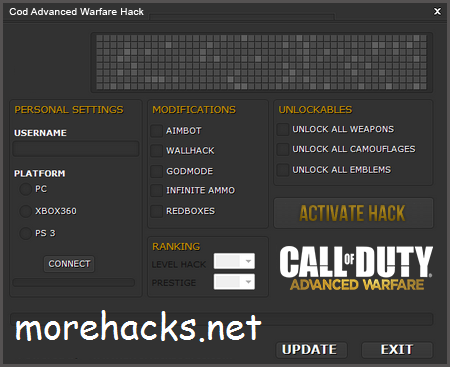 [PS3/PS4/AW] Advanced Warfare 1.20 Unlock All Prestige Hack and Stats Service NO BAN ! + DOWNLOAD