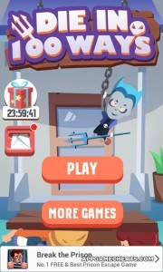 Die in 100 Ways Hack for Coins, All Minigames, Unlimited Lives, & All Levels Unlock 2