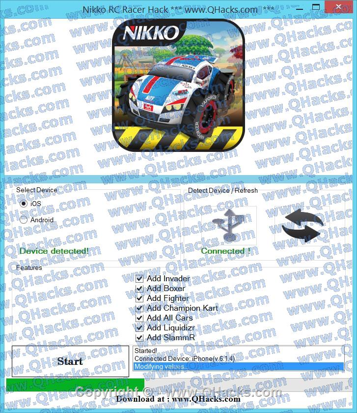 Nikko RC Racer Hack Cheats AND Tricks Invader # Add Champion Kart # Add Liquidizr