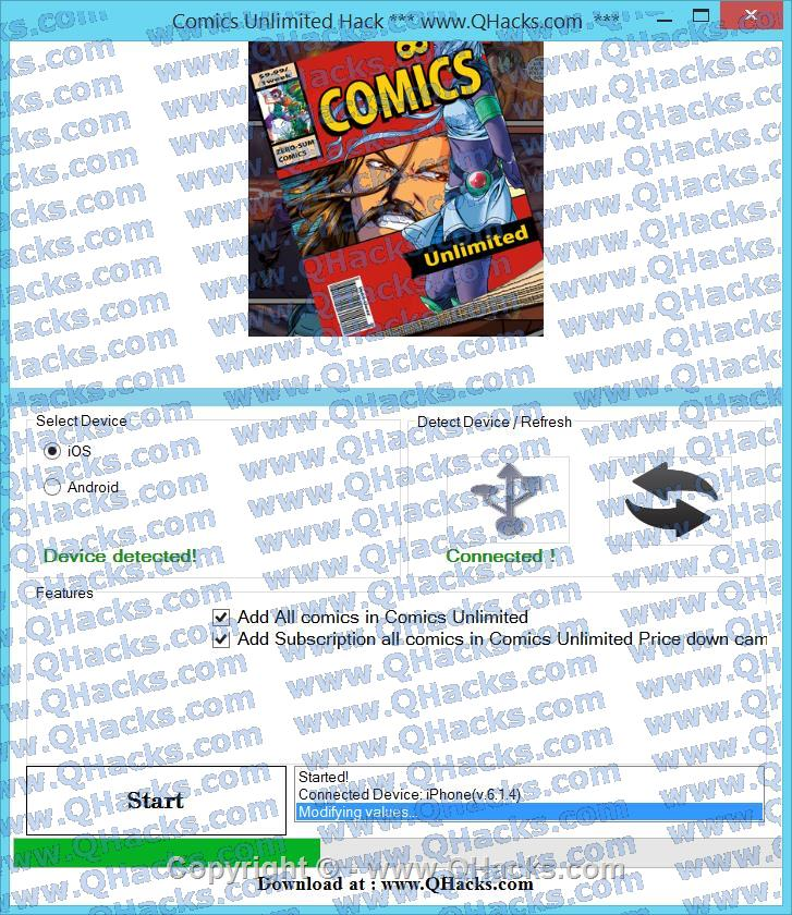 Comics Unlimited Hack Cheats and Tricks Add Subscription all comics in Comics Unlimited Price down campaign