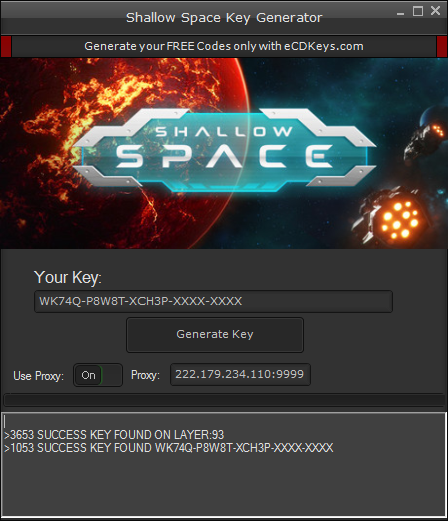 Shallow Space cd-key