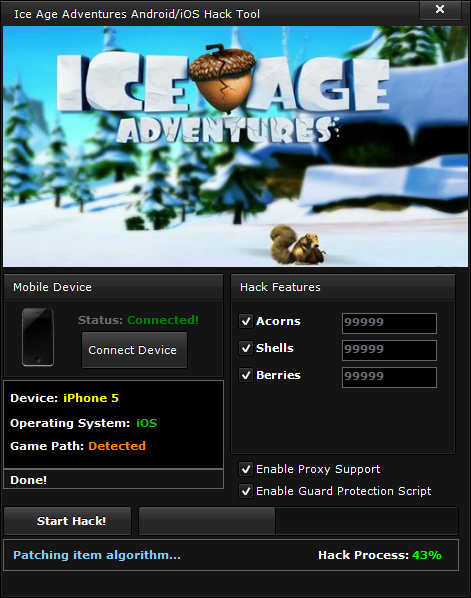 ice age adventures hack androidios Ice Age Adventures Hack (Android/iOS)