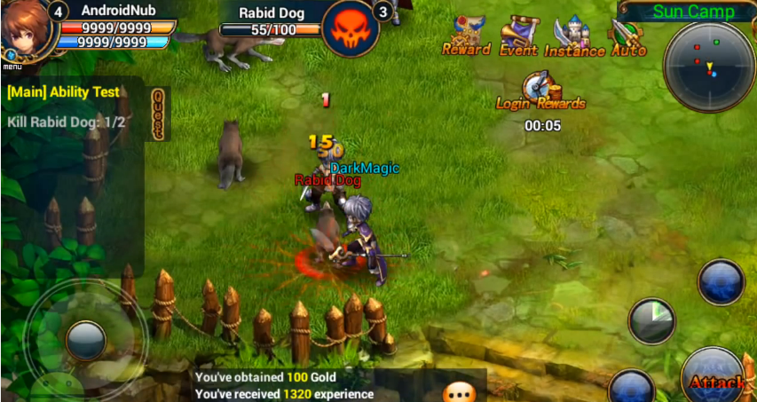 king the mmorpg hack androidios1 King The MMORPG Hack (Android/iOS)