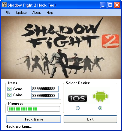 shadow fight 2 hack gems and coins 2016