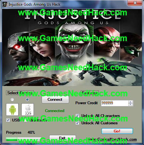 Injustice Gods Among Us Hack