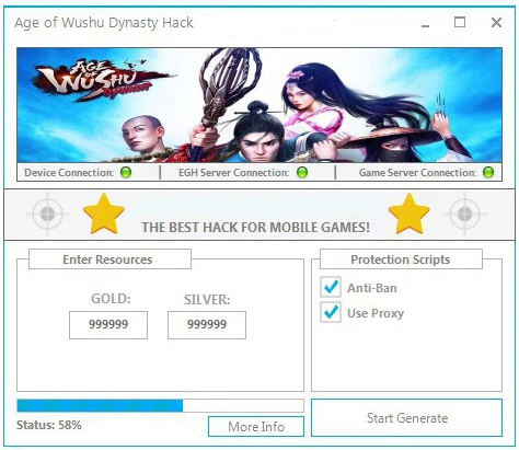 Age of Wushu Dynasty Cheats Hack Mod
