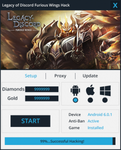 Legacy of Discord Furious Wings Hack
