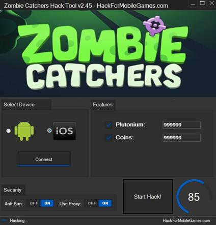 Zombie Catchers Hack Tool V245 Unlimited Plutonium Add Unlimited
