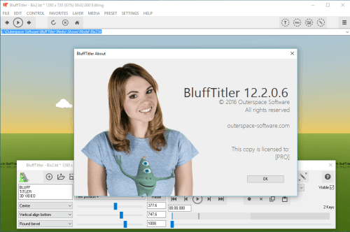 Outerspace BluffTitler Easy 12.2.0.6 Crack