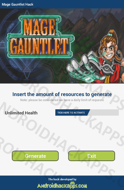 Mage Gauntlet Hack APK Unlimited Health