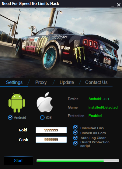 Need For Speed No Limits Hack – Unlimited Free Cash and Gold