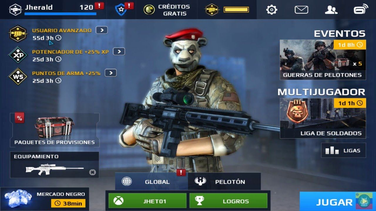 Modern Combat 5 eSports FPS (Mod, Unlimited Money) Apk + Data