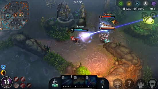Vainglory 5V5 Hack (MOD, Unlimited Money) Apk+Data
