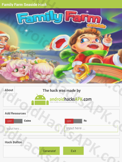 Family Farm Seaside Hack APK Coins and Rc