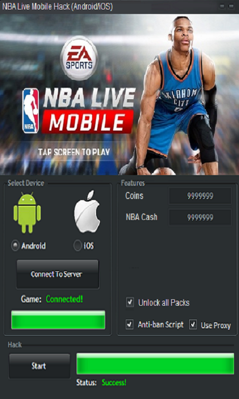 NBA Live Mobile Cheats Top 5 Tips and Coin Making Guide 2