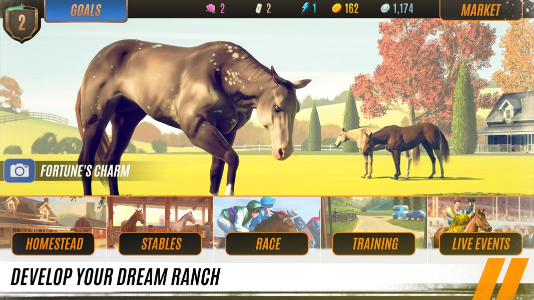 Rival Stars Horse Racing 1.2 Apk + Mod for android Play Rival Stars Horse Racing for the final word horse racing expertise. Care for and practice your individual secure of horses, breed the proper champion, handle a homestead ranch, and race for victory!