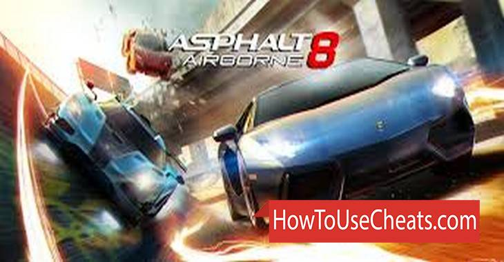 Asphalt 8: Airborne how to use Cheat Codes and Hack Credits, Energy and Nitro