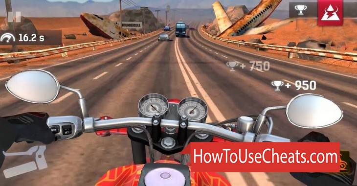 Moto Highway Rider how to use Cheat Codes and Hack Gold and Money