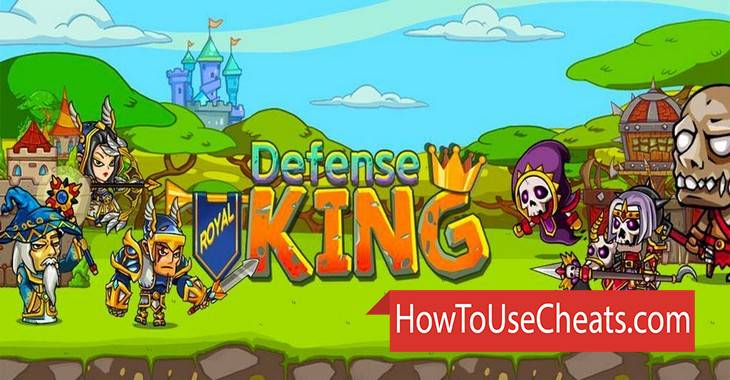 Royal Defense King how to use Cheat Codes and Hack Gems