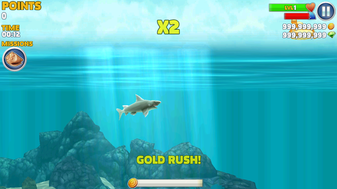 MOD Hungry Shark Evolution - VER. 6.2.0