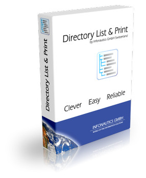 Directory List & Print Pro With Crack