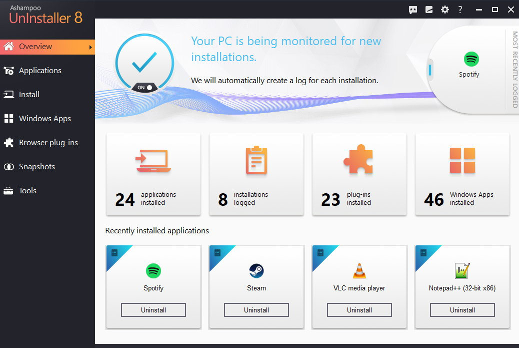 Ashampoo UnInstaller Key