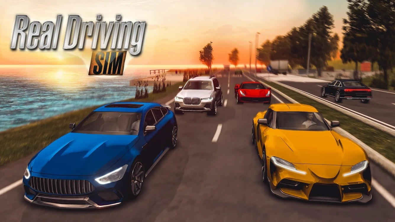 Real Driving Sim Mod Apk Huge Vehicle Selection