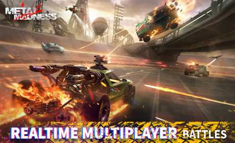 METAL MADNESS PvP: Car Shooter & Twisted Action 0.39 Apk for Android