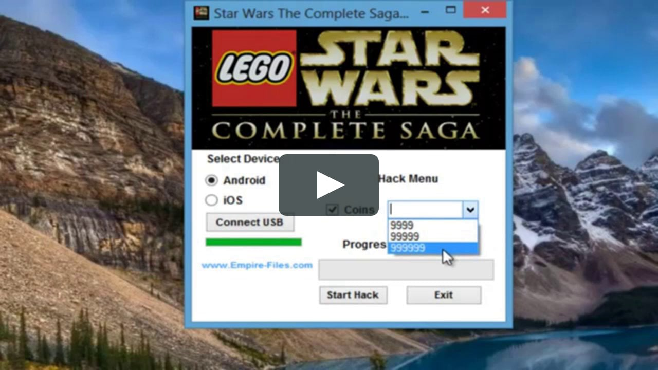 Lego Star Wars: The Complete Saga Hack add unlimited Coins and Unlimited Hearts and Unlock All Characters 2