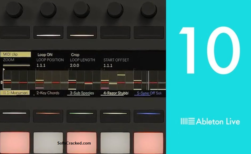 Ableton Live 10 Crack Mac+Windows