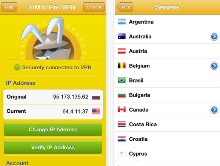 HMA Pro VPN 5.1 Crack + Username & Password
