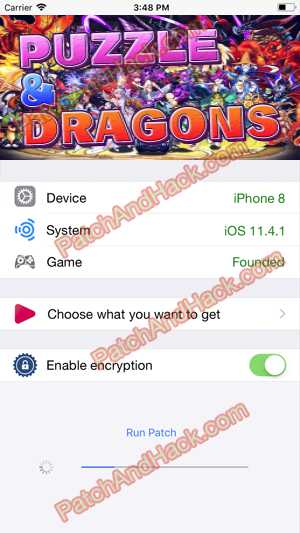 Puzzle and Dragons Hack - patch and cheats for Gems, Coins and other stuff on Anroid and iOS