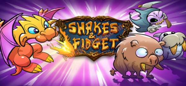 Shakes and Fidget Patch and Cheats mushrooms,gold