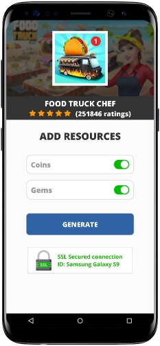 Food Truck Chef MOD APK Unlimited Coins Gems