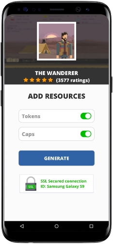 The Wanderer MOD APK Unlimited Tokens Caps