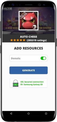 Auto Chess MOD APK Unlimited Donuts
