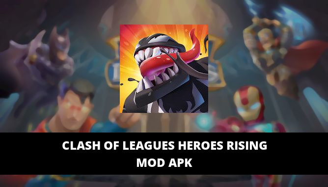 Clash of Leagues Heroes Rising Featured Cover