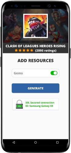 Clash Of Leagues Heroes Rising MOD APK Unlimited Gems