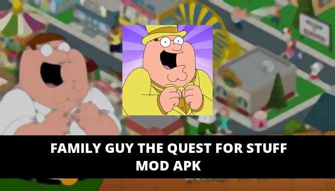 Family Guy The Quest for Stuff Featured Cover
