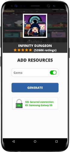 Infinity Dungeon MOD APK Unlimited Gems