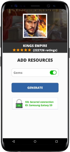 Kings Empire MOD APK Unlimited Gems