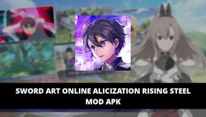 Sword Art Online Alicization Rising Steel Featured Cover