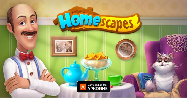 Homescapes MOD APK Unlimited Stars