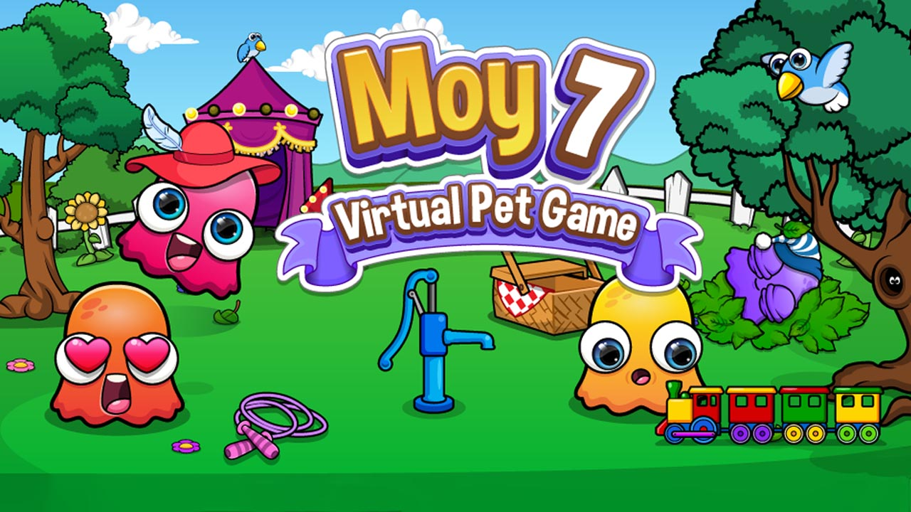 Moy 7 the Virtual Pet Game MOD APK Unlimited Money